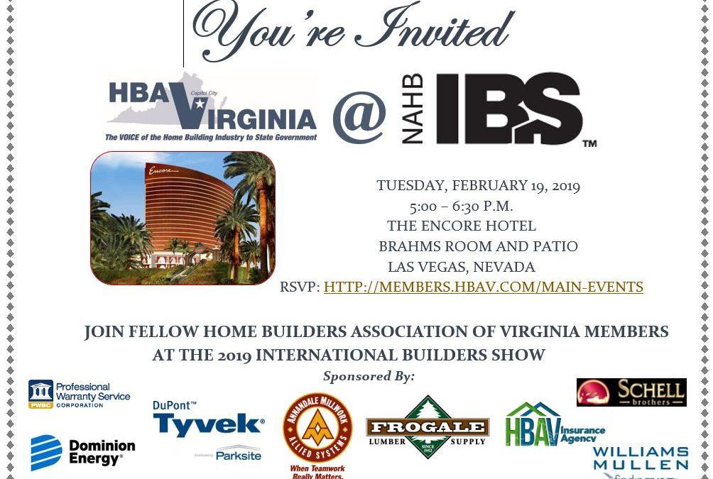 February 2019 Virginia E-Builder